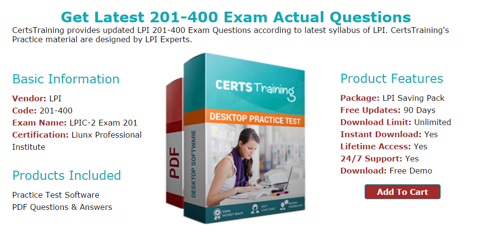 Latest Lpi 201 400 Practice Test 2017 - Exam Dumps Provider
